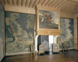 Kamer met kleden van Van der Gucht in het Bartholomeusgasthuis