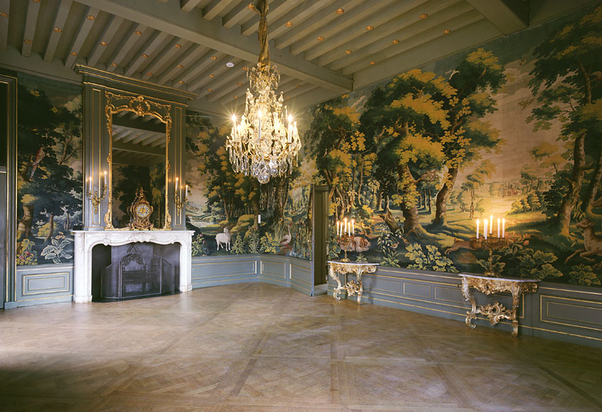 'Groenwerken' van Van der Gucht in het Slot Zuylen - Handwerkwereld