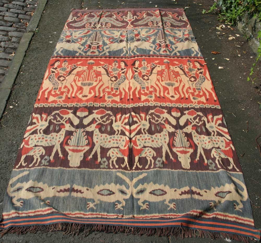 Sumba - Hinggi ceremoniële sjaal