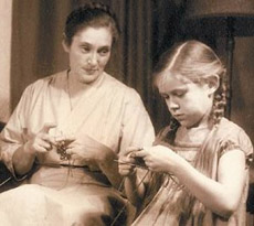 Elizabeth met dochter Meg