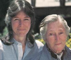 Elizabeth Zimmermann en dochter Meg Swansen