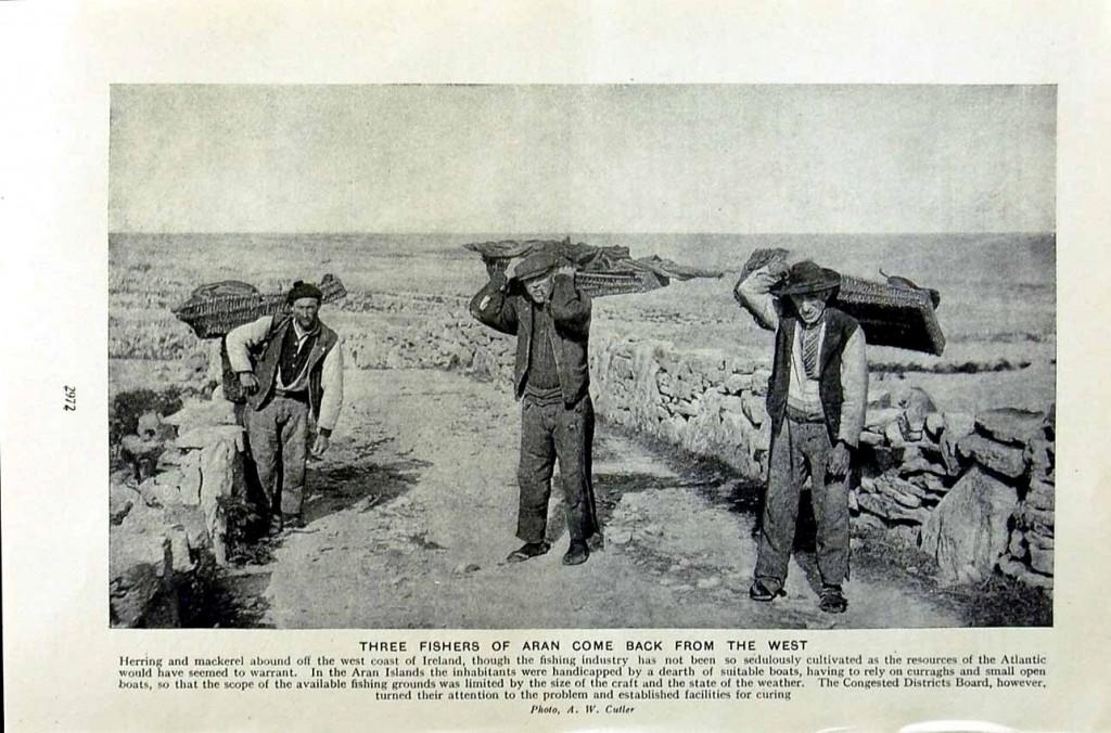 Aran fishermen - Aran-breien - Handwerkwereld