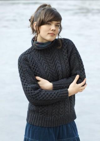 Aran-trui door Alice Starmore, ontwerp Na Craga