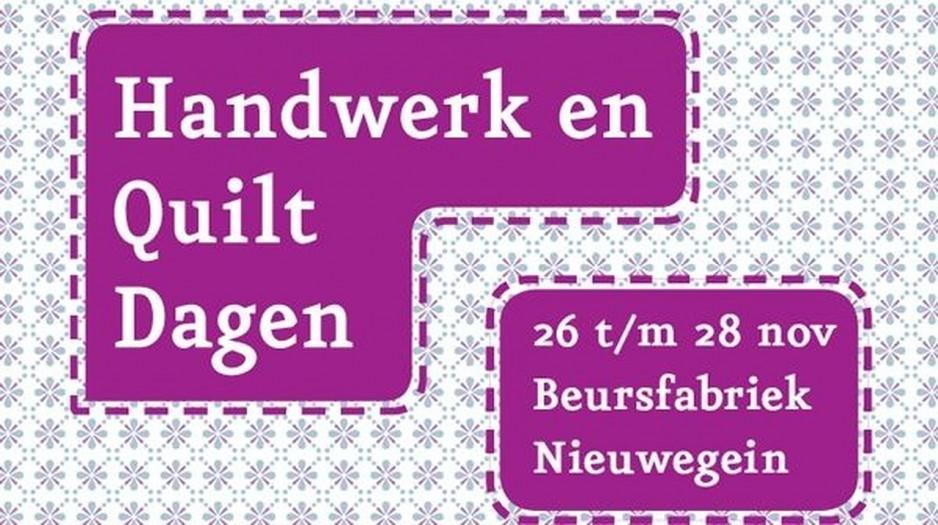 Handwerk en Quiltdagen- logo