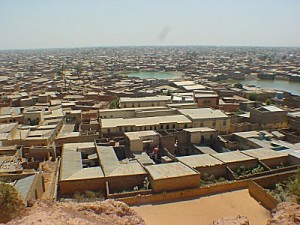 Indigo - panorama over Kano