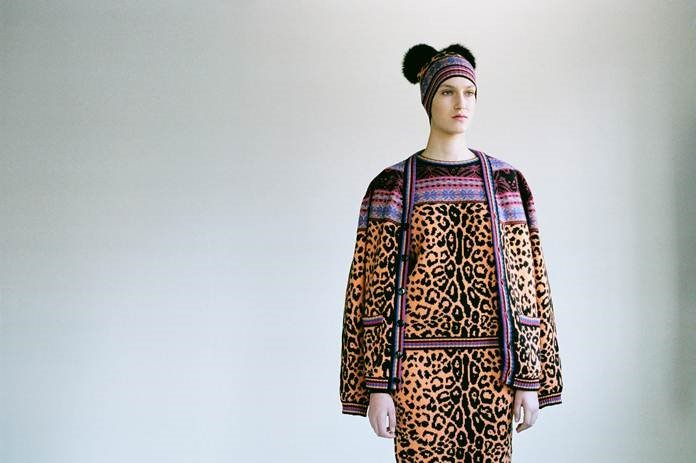 Kunsthal - Fair isle leopard - Tom Giddings for Sibling