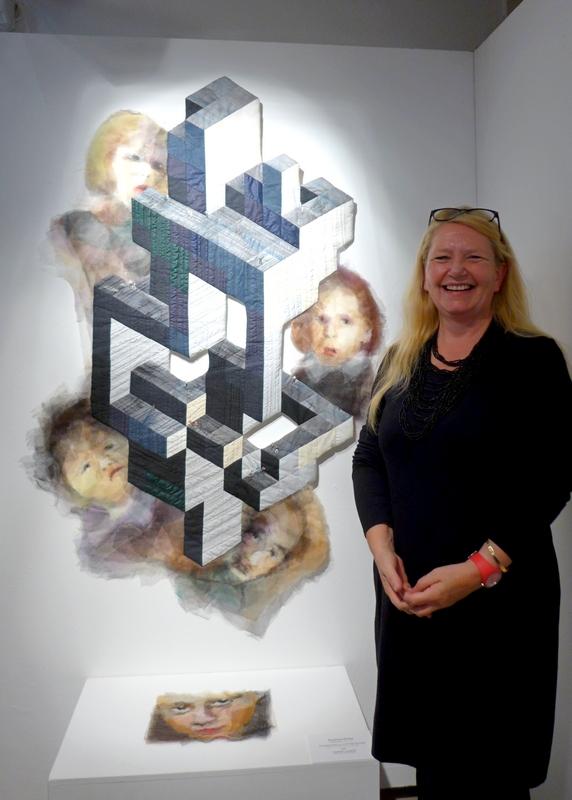 Quilttriennale - Luftschloß - Susanne Klinke