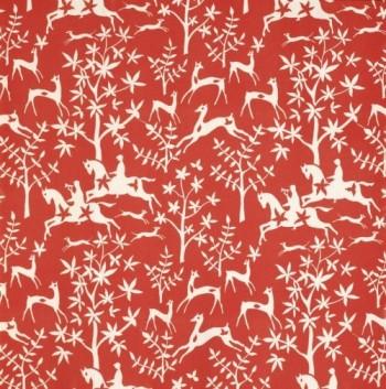Textielmuseum - gordijn Promenade - Frits Wichard 1952 - Weverij De Ploeg - foto Joep Vogels
