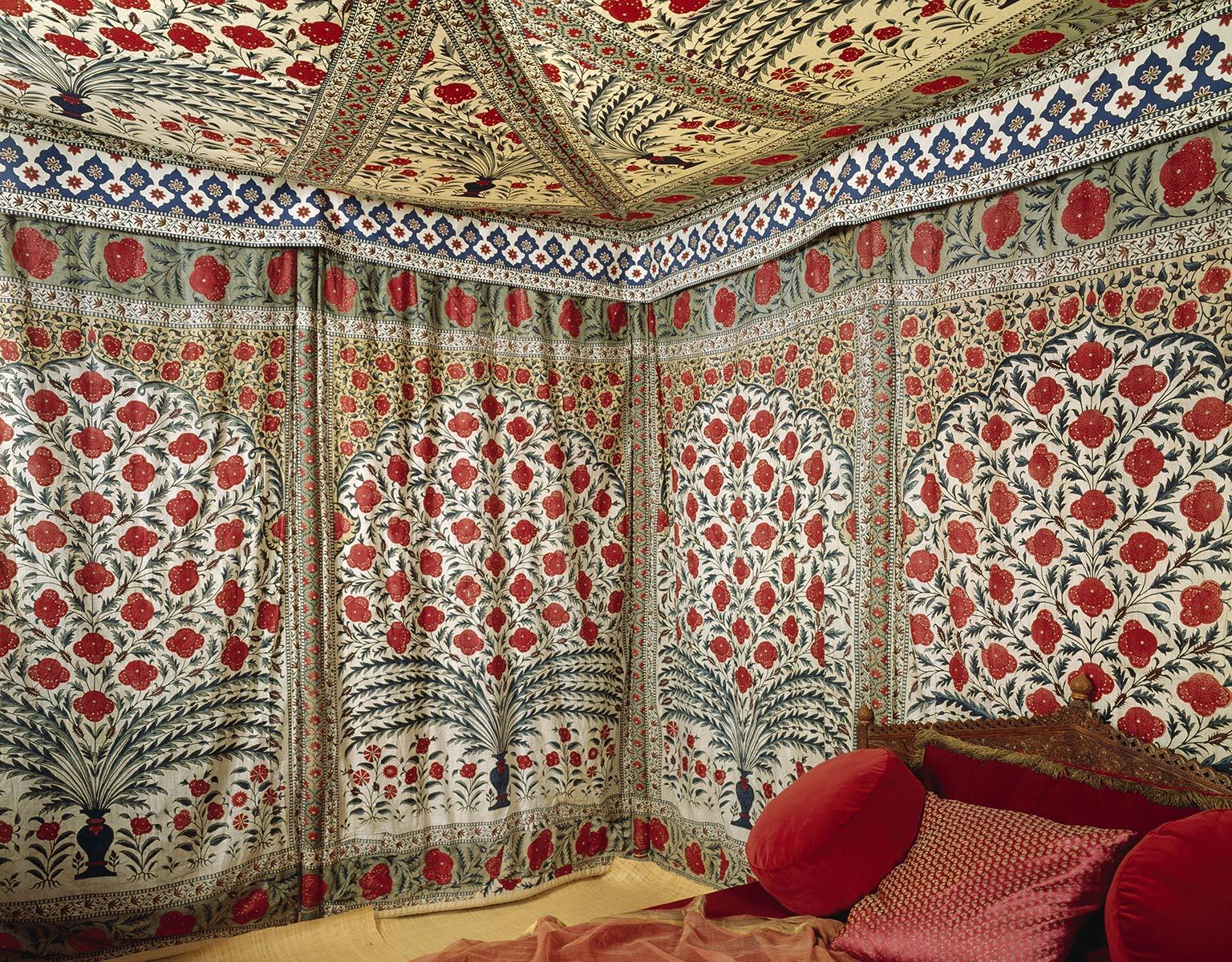 Tent van Tipu Sultan, laat-Mughal, ca. 1725 - 1750, Victoria & Albert Museum