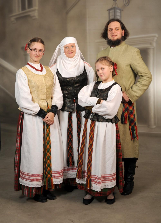 Litouwse streekdracht.