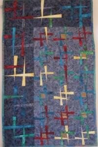 Quilt van de Tsjechische Quiltgroep.