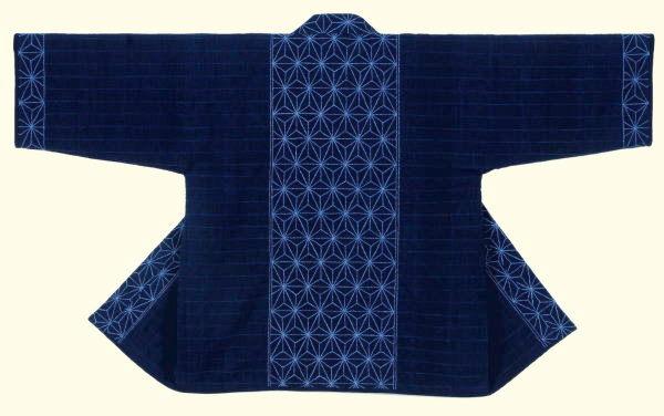 Hemd met Sashiko-decoratie.