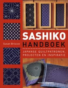 Sashiko Handboek van Susan Briscoe.