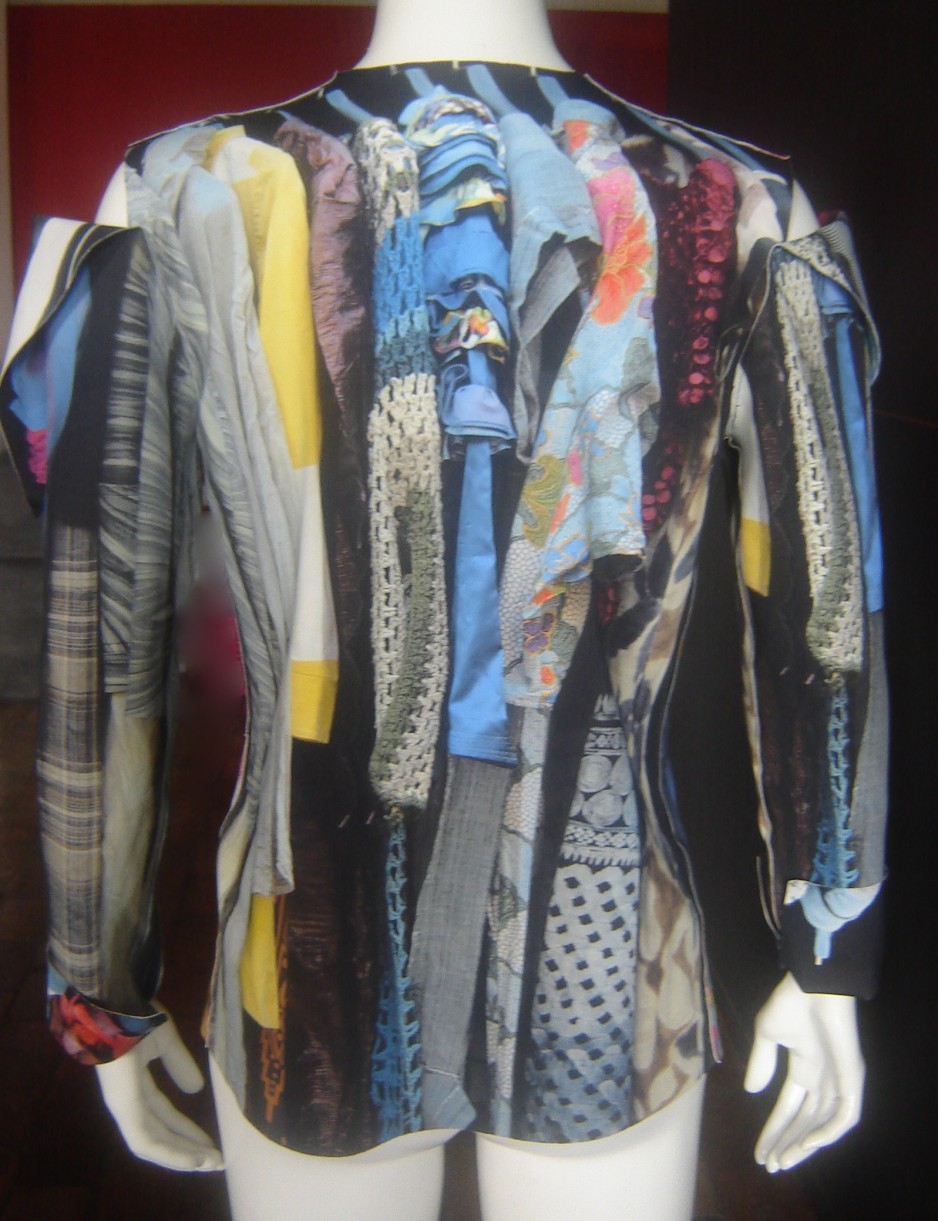 Anita Evenepoel - A closet full of clothes but nothing to wear, 2011