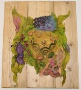 Viltwerk van Annemie Koenen.