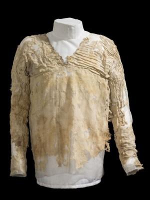 De Tarkhan Dress uit het UCL Petrie Museum.