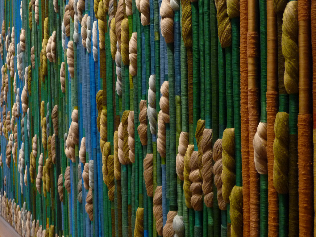 Sheila Hicks - Silk Rainforest.