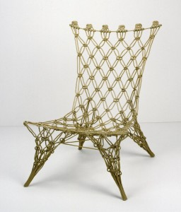 Knotted chair, ontwerp Marcel Wanders. 1995.