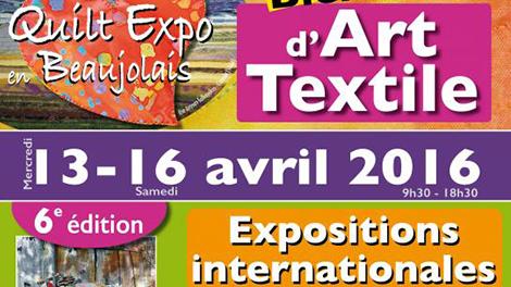 Quilt Expo en Beaujolais - logo