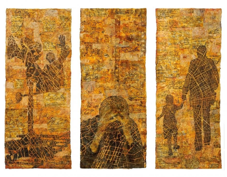 Eszter Bornemisza (Hongarije), The Filmmaker, 176 x 230 cm - foto Tihannyi & Bakos.