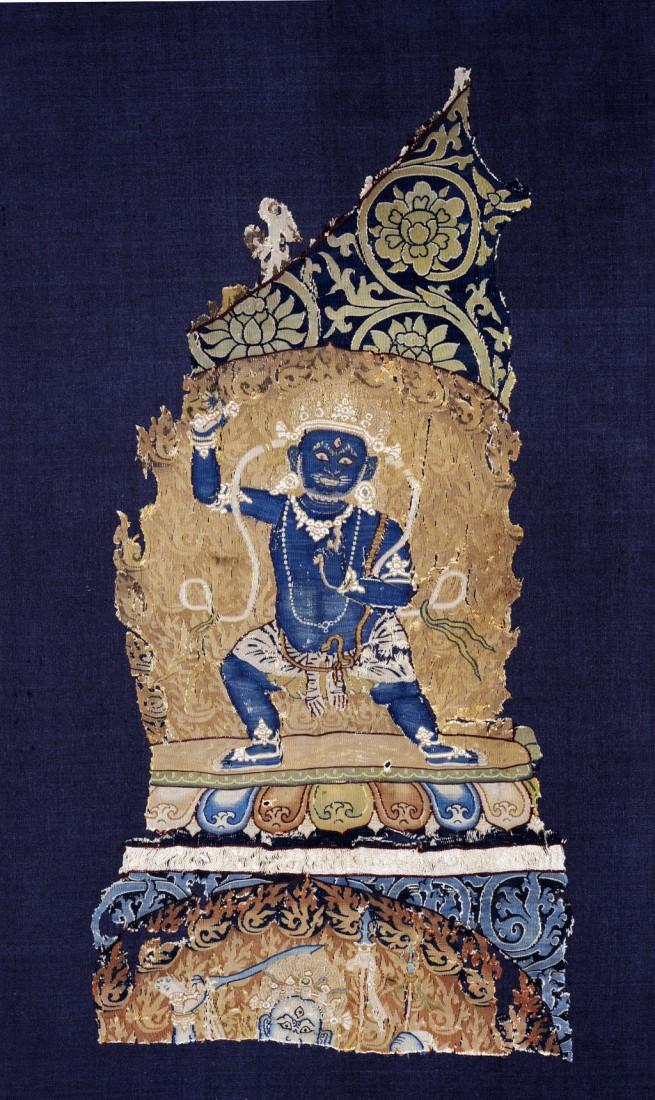 Fragment van een Tibettaanse mandala, 1330-1332.