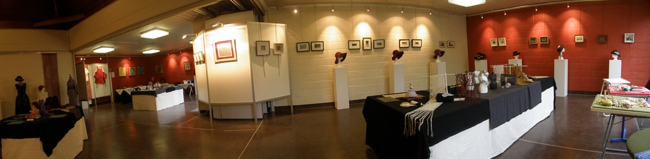 Overzicht vierde tentoonstelling Zennekant (2014).