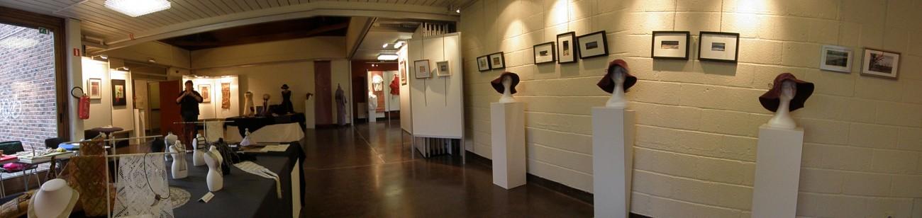 Overzicht derde tentoonstelling Zennekant (2012).