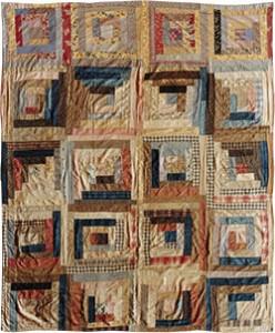 Mennonitische quilt uit de Tweede Wereldoorlog.