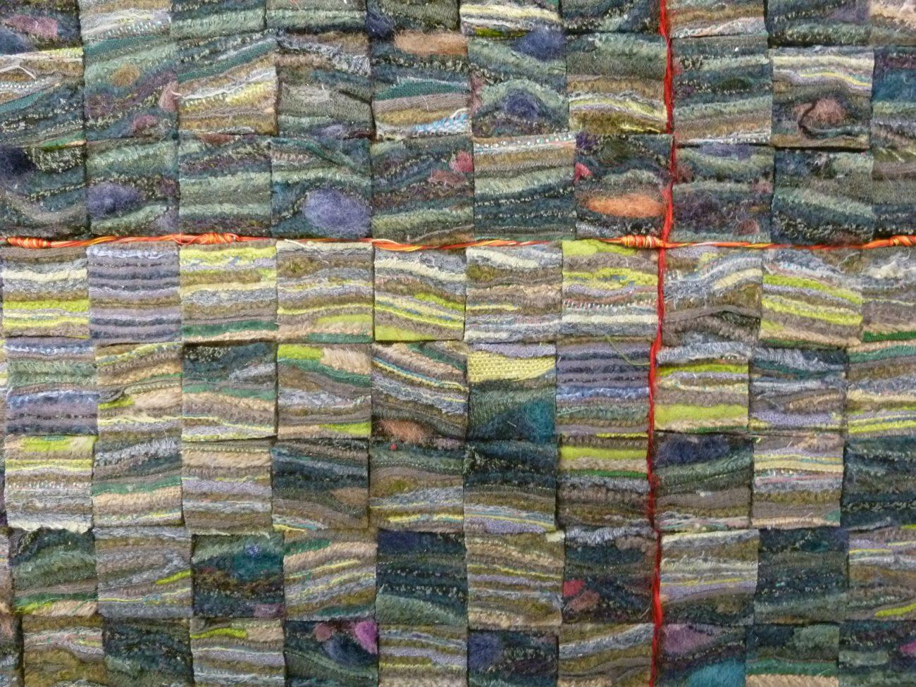 """Petra Ewler, 52°11'37.1""""N 9°47'36.7""""E, detail."""