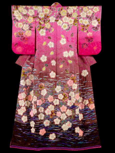 Kimono door Itchiku Kubota.