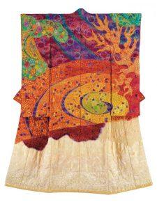 Kimono uit de Symphony of Light-serie door Itchiku Kubota.