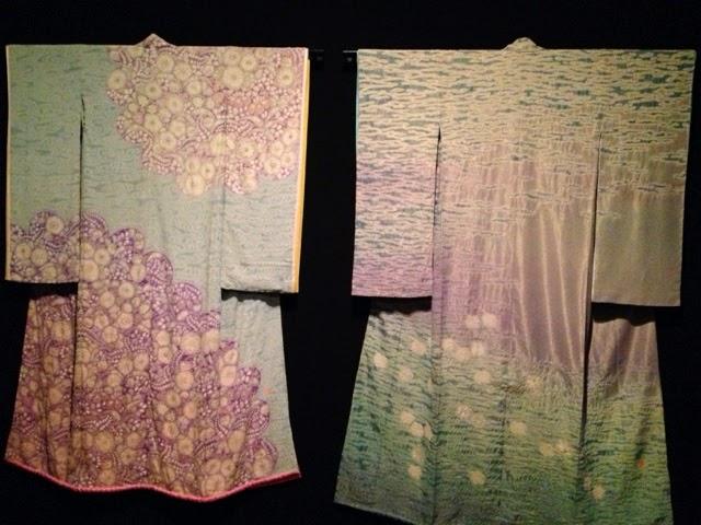 Nog twee kimono's van Itchiku Kubota.
