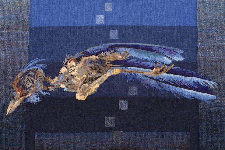 Barbara Heller (Canada), Tzimtzum – Transcendence – bird (detail).