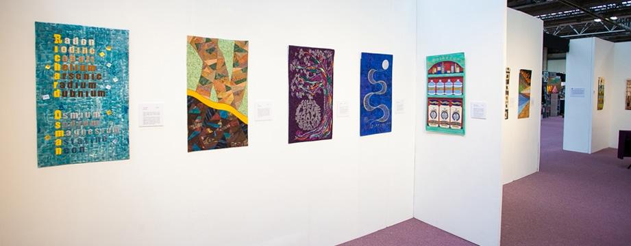 Een deel van de tentoonstelling.