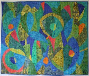 Janet Twinn, Green Blooms.