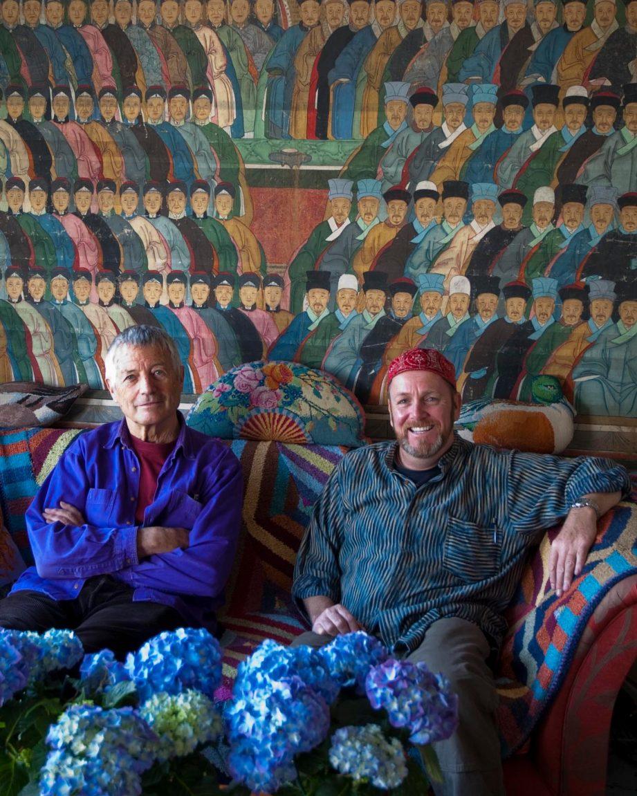 Kaffe Fassett zal tijdens de beurs een rondleiding geven door zijn collectie van antieke quilts.