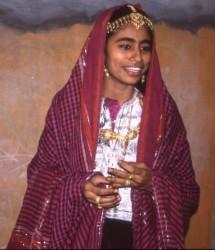 Traditionele kleding uit Oman.
