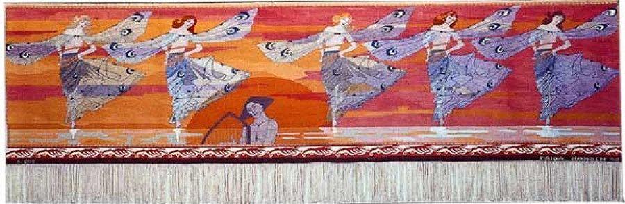 Libellenes dans (Dans van de Libellen), 1901, ruim 4 m breed.