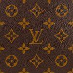 Het beroemde logo van Louis Vuitton.