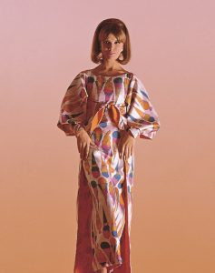 'Ice Cream Cone' jurk, Andy Warhol (stof), Stephen Bruce (jurk), 1964, foto Target Gallery.