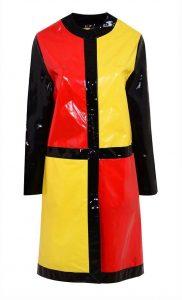 'Mondrian' damesmantel voor 'Astromac', 1966, foto Target Gallery.