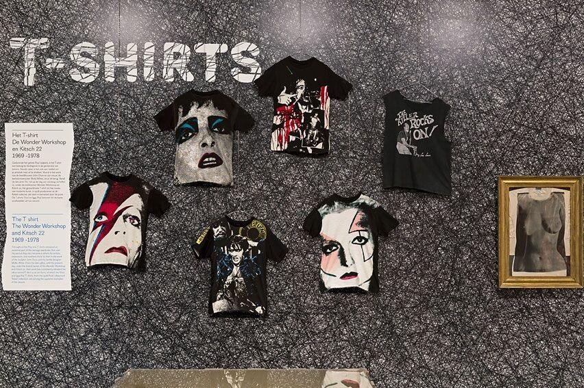 Diverse T-shirts, foto Josefina Eikenaar.
