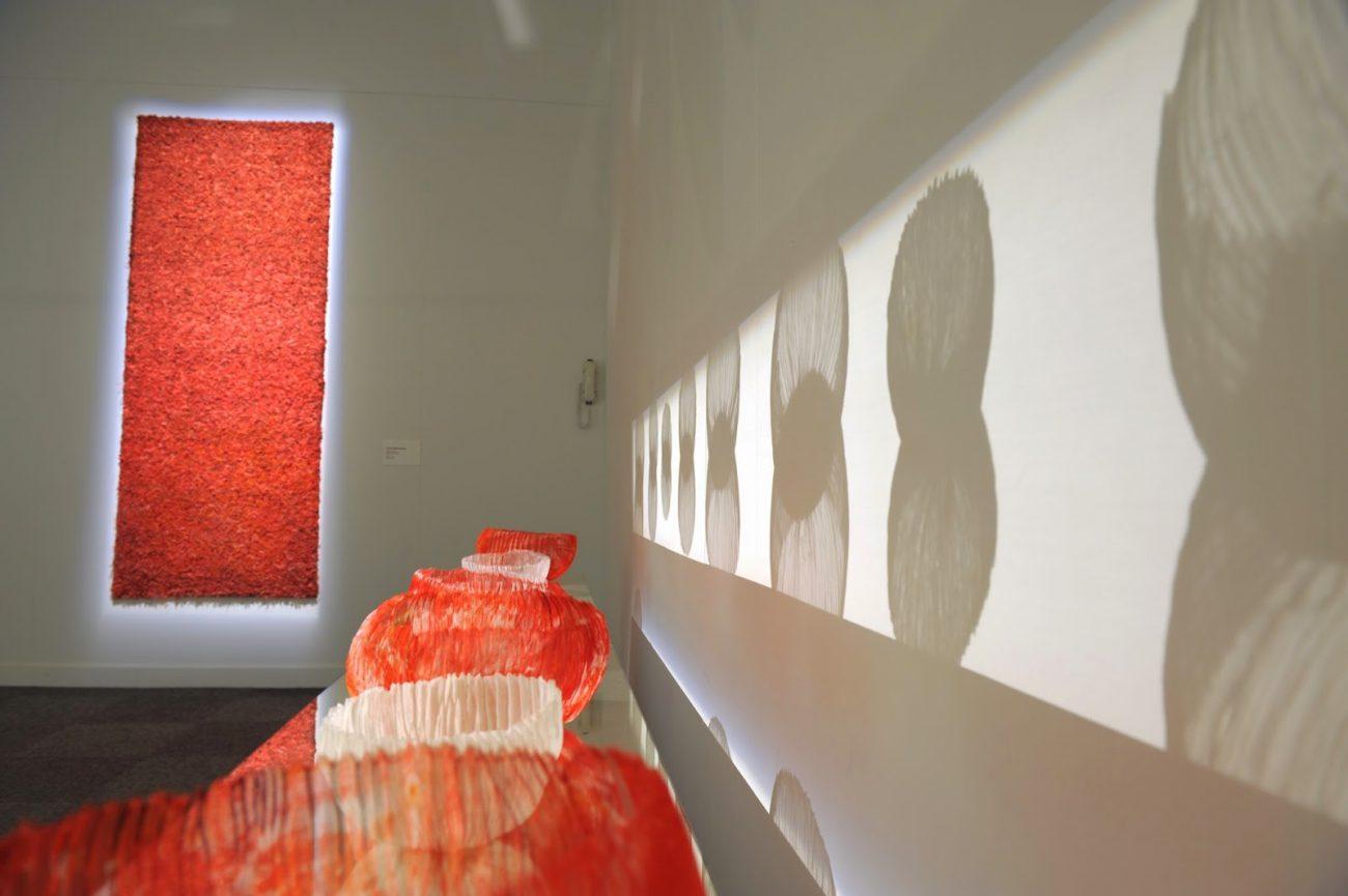 Installatie in het Jean Lurçat Museum in Angers, Frankrijk.