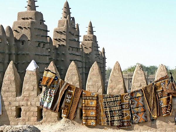Bògòlanfini in Djenné, Mali.