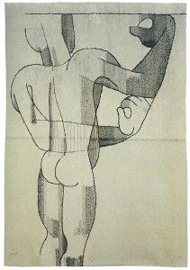 Männerakt (foto Textil Forum).