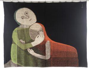 Johanna Schütz Wolff - Mutter und Kind II (1931).
