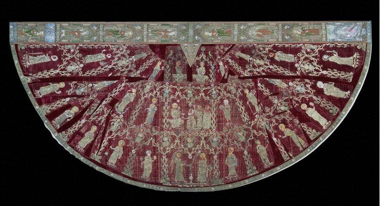 De Butler-Bowden-cope (koorkap), 1330-1350, V&A Museum.