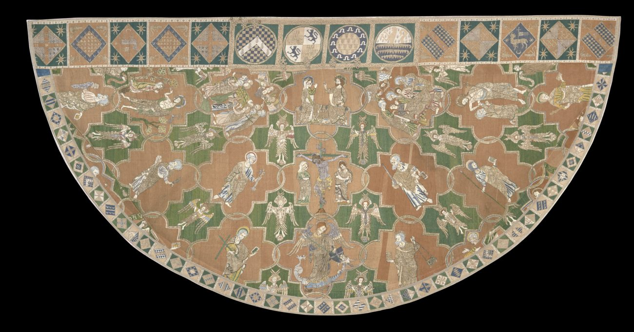 De Syon-Cope (koorkap), 1310-1320 - Victoria & Albert Museum, London.