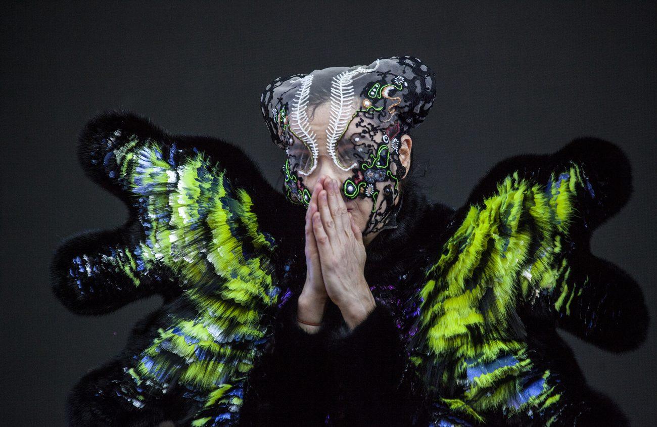 Nikoline Liv Andersen is de ontwerpster van het kostuum dat door de IJslandse zangeres Björk in 2015 op haar tournee gedragen werd.