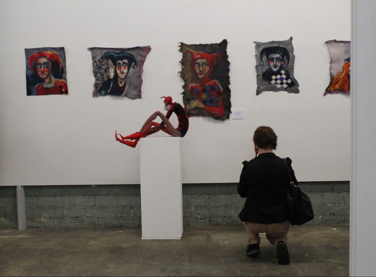 Overzichtsfoto tentoonstelling.